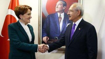 """CHP ile İYİ Parti """"ittifak"""" konusunda anlaştı"""