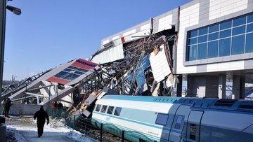 Tren kazası soruşturmasında 3 gözaltı