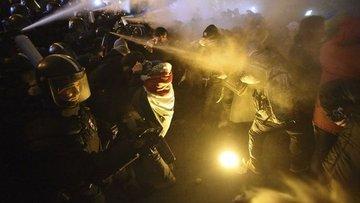 Macaristan'da mesai protestosu