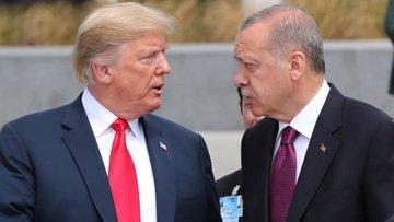 Cumhurbaşkanı Erdoğan, Trump ile görüştü