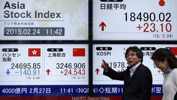 Asya borsaları karışık açıldı