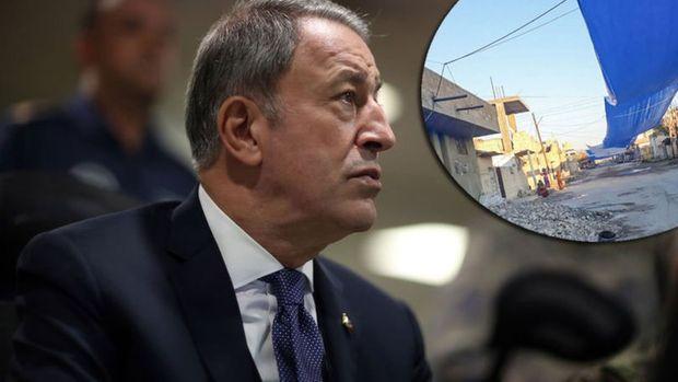 Milli Savunma Bakanı Akar'dan Fırat'ın doğusu açıklaması
