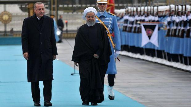 Ruhani, Cumhurbaşkanı Erdoğan ile görüşmek üzere Ankara'da