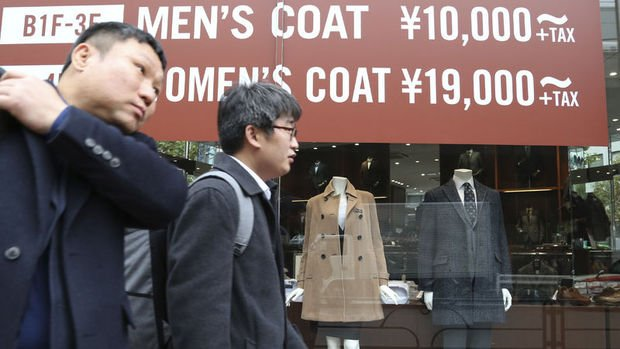 Japonya'da enflasyon Kasım'da yüzde 0.9 oldu