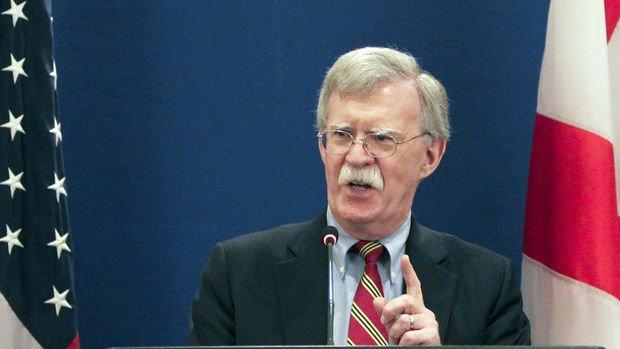 ABD/Bolton: Türkiye ile görüşmeler gelecek hafta devam edecek