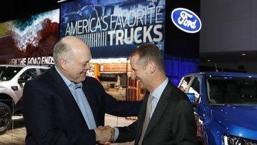 Volkswagen ve Ford birlikte araç üretecek