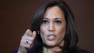 Kamala Harris 2020 başkanlık seçimlerine aday olacağını a...