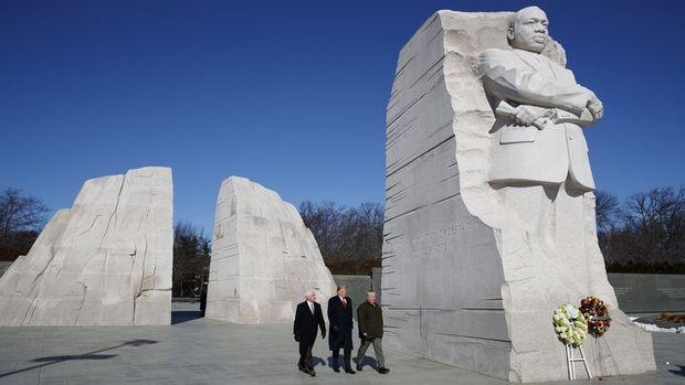 ABD'de Martin Luther King anıldı
