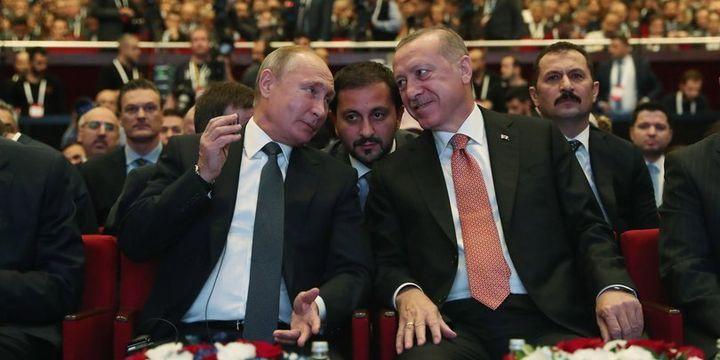 Erdoğan-Putin görüşmesinde gündem Suriye