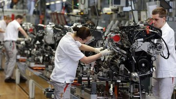 Almanya imalat PMI Ocak'ta 4 yılın düşüğüne geriledi