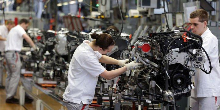 Almanya imalat PMI Ocak