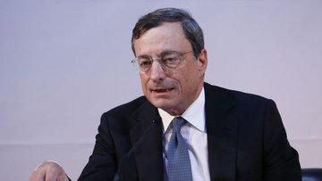Draghi: Görünüme yönelik riskler aşağı yöne döndü