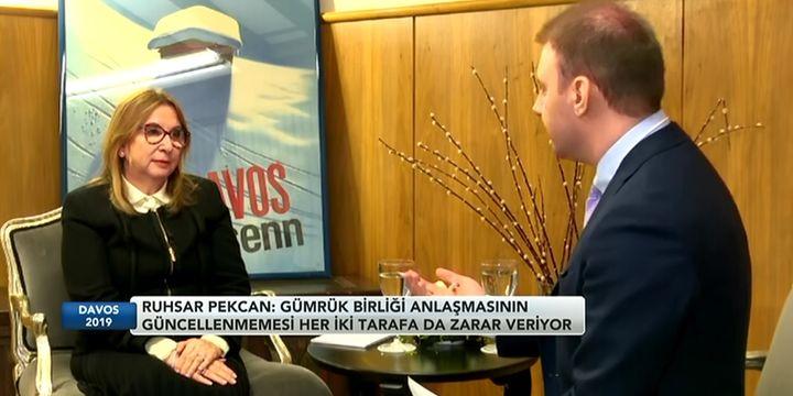 Pekcan: Türkiye kural bazlı serbest ticaretten yana
