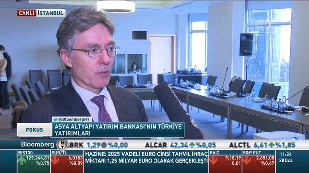 AIIB/Amsberg: Türkiye Kalkınma Bankası'na yatırımı değerlendiriyoruz