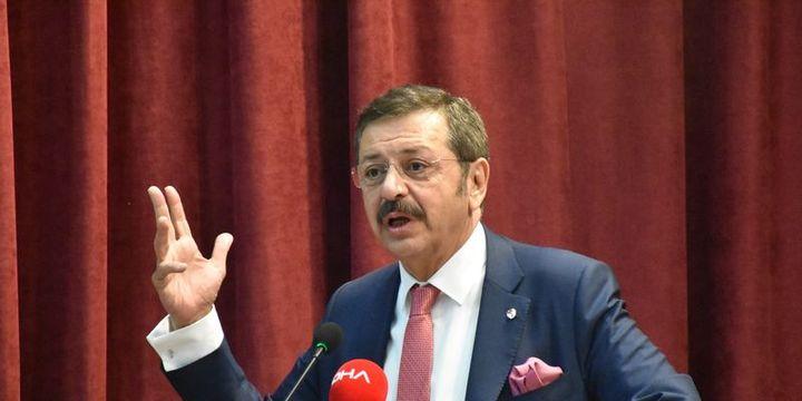 Hisarcıklıoğlu: Türkiye çelik vergisinden muaf tutulsun