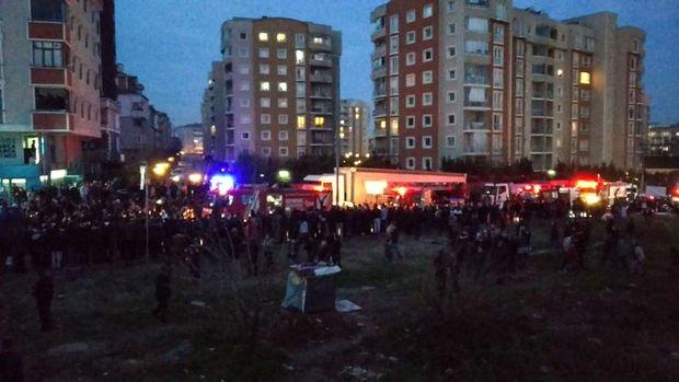 Çekmeköy'de askeri helikopter düştü: 4 asker şehit