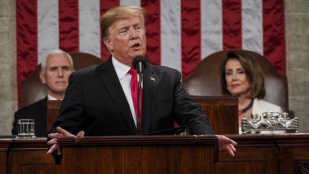 Trump'a 'Birliğin Durumu' konuşmasından sonra destek arttı