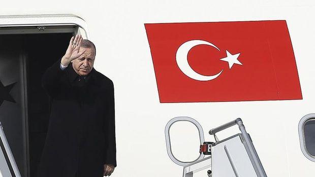 Erdoğan üçlü zirve öncesi Ruhani ile görüştü
