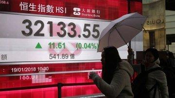 """Asya hisse senetleri """"ticaret kötümserliği"""" ile geriledi"""