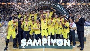 Basketbolda Erkekler Türkiye Kupası'nı Fenerbahçe Beko aldı