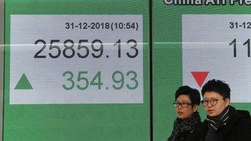 """Asya hisse senetleri """"ticaret iyimserliğiyle"""" yükseldi"""