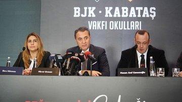 BJK-Kabataş Vakfı Okulları hayata geçiyor