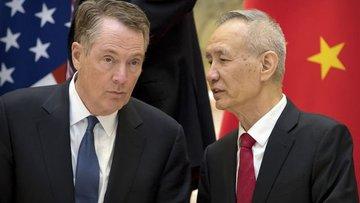 Çin Başbakan Yardımcısı Liu He, ticaret müzakereleri için...