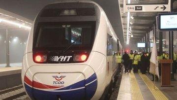 Bakan Turhan, yüksek hızlı trenin test sürüşünü yaptı