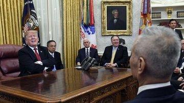 Trump Çin Başbakan Yardımcısı Liu He ile bir araya gelecek