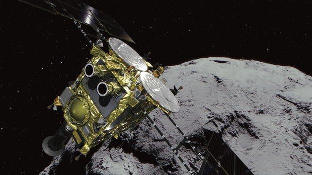 Japon uzay aracı Ryugu astreoridine iniş yaptı