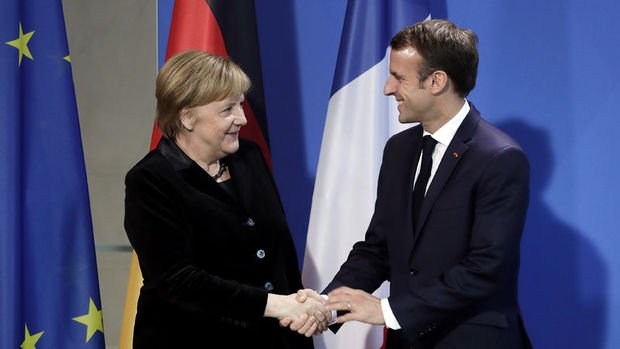 Macron ile Merkel bir araya gelecek