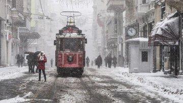 İstanbul soğuk ve yağışlı sistemin etkisine girdi