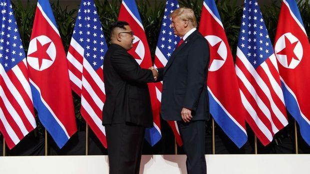 Trump ve Kim Jong-un ortak bildiri yayımladı