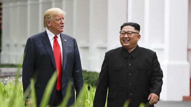 Trump: Kuzey Kore nükleer silahsız büyük bir güç olabilir