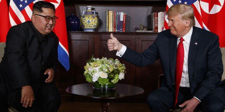 Trump ve Kim zirvesinin ikinci turu başladı