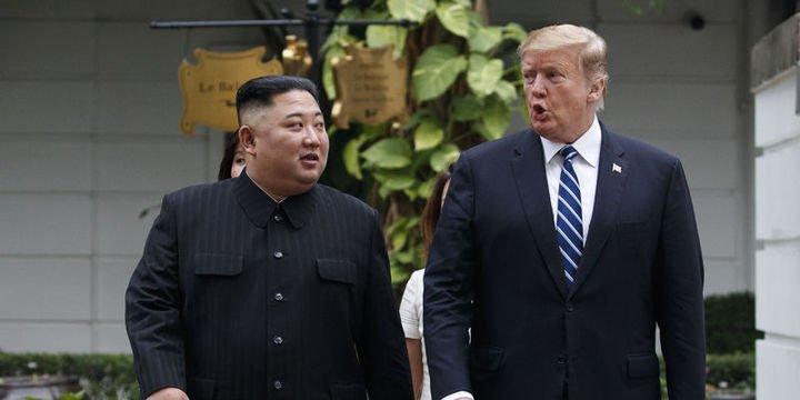 Trump: Kuzey Kore ile görüşmeler yaptırımların kalkması talebi nedeniyle bitti