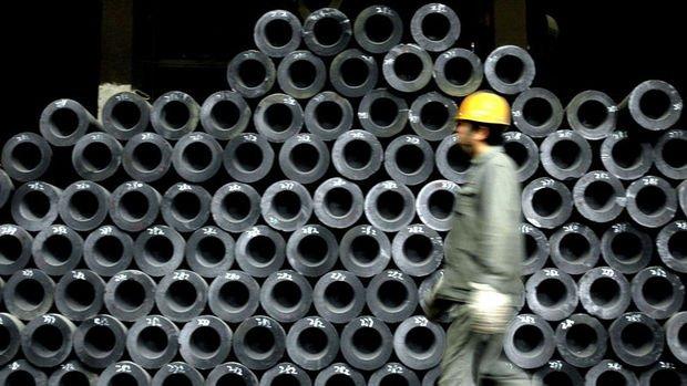 Çelik üretimi Ocak'ta  düştü