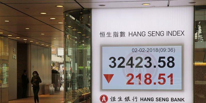 Asya hisse senetleri büyüme endişeleriyle geriledi