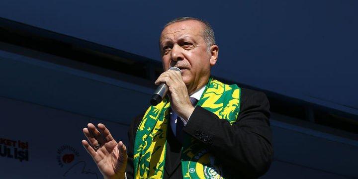 Erdoğan: Bu trenden inen bir daha binemez
