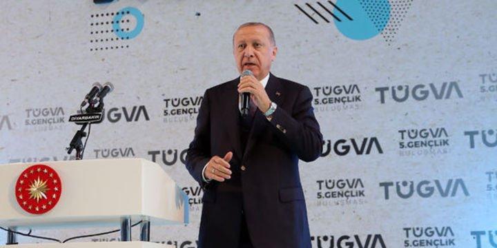 Erdoğan: S-400 savunma sisteminin NATO ile, ABD