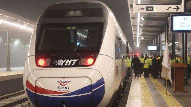 Ankara'dan kalkan Yüksek Hızlı Tren Halkalı'ya ulaşacak