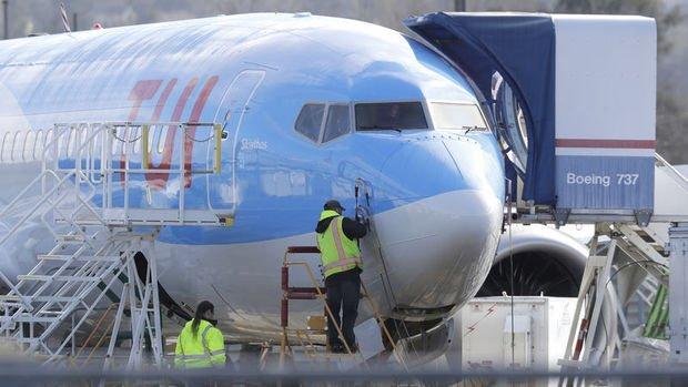 Boeing tüm 737 Max filosunun uçuşlarını durdurdu