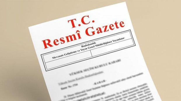 Atama ve görevden alma kararları Resmi Gazete'de yayımlandı