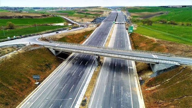 Kuzey Marmara Otoyolu'nun Çatalca-Yassıören kesimi açılıyor