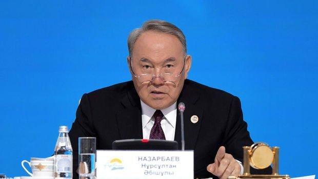 Kazakistan Cumhurbaşkanı Nazarbayev görevinden istifa etti
