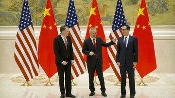 Çin'in müzakerelerde ABD'nin taleplerinden geri adım attı...