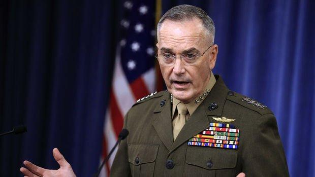 ABD Genelkurmay Başkanı Dunford: S-400 konusunda umutluyum