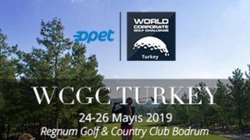 Dünya Kurumsal Golf Turnuvası 24 - 26 Mayıs'ta gerçekleşe...