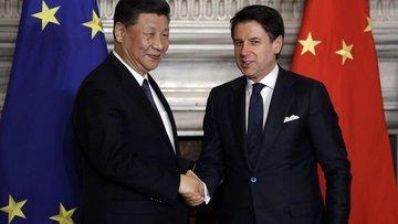 İtalya ile Çin, 'Yeni İpek Yolu' için mutabakat imzaladı