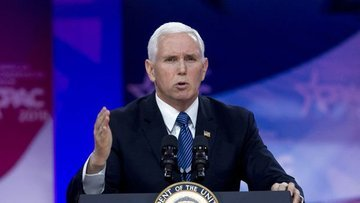"ABD/Pence:Trump, Golan Tepeleri'ni bugün resmen ""İsrail t..."